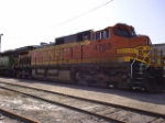 BNSF 4768 at the Frisco yard in Mobile