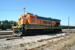 BNSF 4273 at the Frisco yard in Mobile