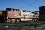 BNSF 601 hating its new life