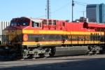 KCS 4713 waiting at BNSF engine house