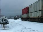 Trailing an east bound intermodal