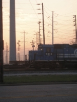 The Sun Setting on Conrail