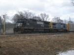 NS 8709 and CSX 7716