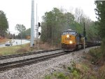 NB freight Q675 accelerating out of CP Moon