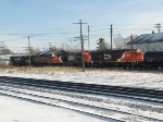 NS 8794 leads UP 7003, CN 2287 and CN 2284