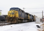 Loaded Autorack train southbound