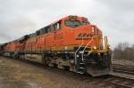 BNSF6152 (Powerbar) southbound TVAX coal
