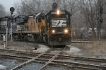 NS143 rounds the curve at CP230