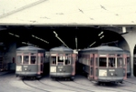 NOPSI streetcars 921 947 and 905 ready for service