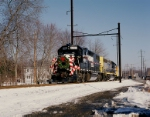 The Conrail 2005 Browns Yard Santa Train