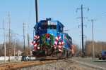 The 2008 Conrail Browns Yard Santa Train