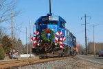 Conrail Santa Train on the Amboy Secondary