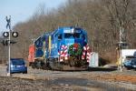 Conrail Santa Train Eastbound