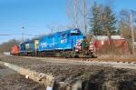 Conrail 2008 Browns Yard Santa Train