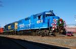The 2008 Conrail Shared Assets Operations Browns Yard Santa Train