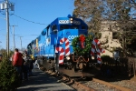 The 5290 dressed for the holidays