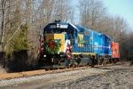 Santa Train heading for Jamesburg