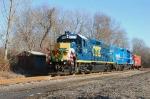 Conrail Shared Assets Operations 2008 Browns Yard Santa Train