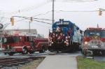 The Conrail 2004 Browns Yard Santa Train