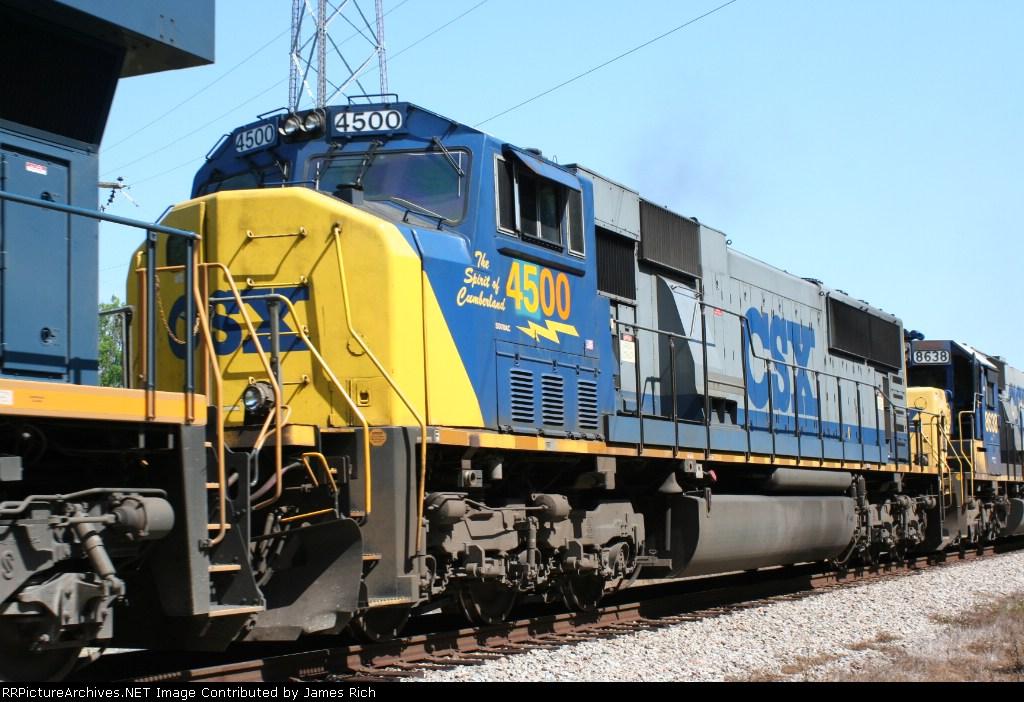 CSXT 4500