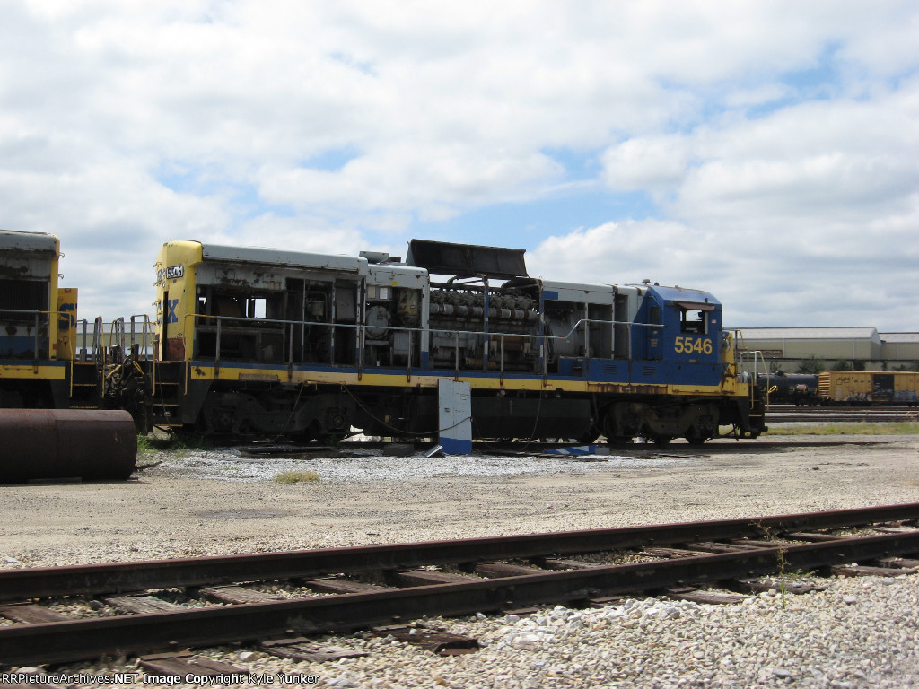 The fate of CSX 5546