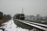NS 9890 takes a detour down the Porter Branch
