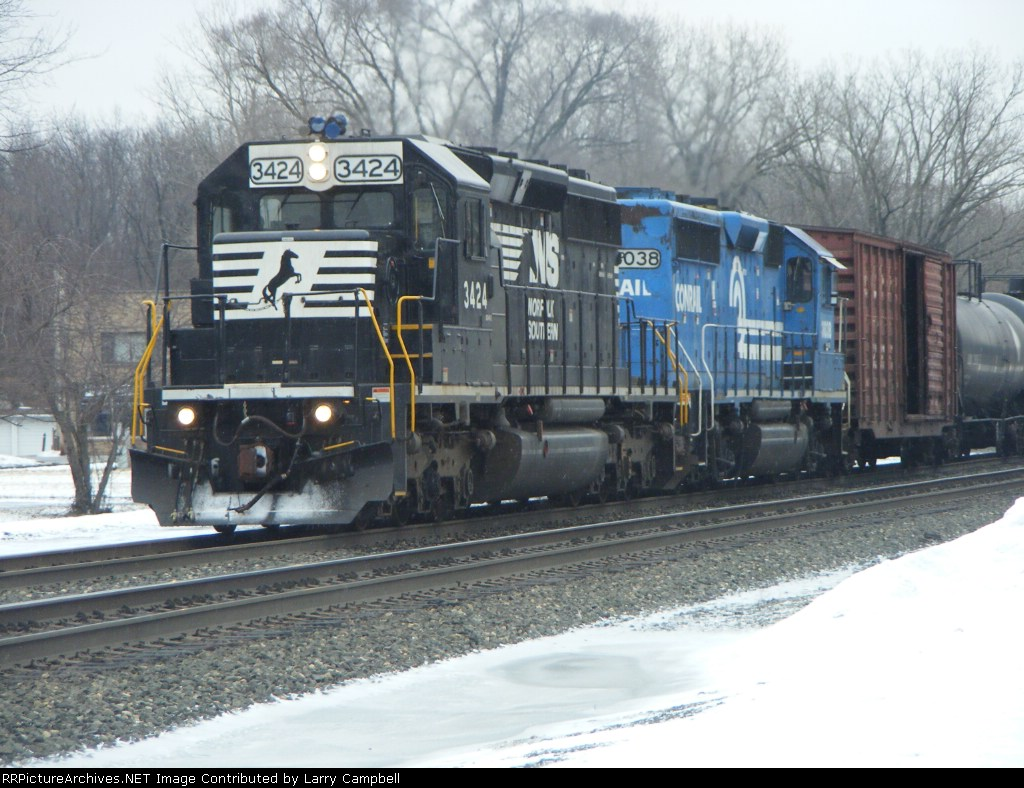 NS 3424 and NS 3038