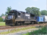 NS 3545 and ex-CR Caboose
