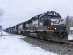 NS train with a 9 engine lead