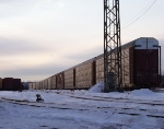 Rochester Yard on a cold winter morning