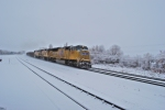 UP 5099 in the snow