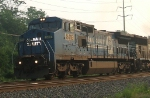 NS 8418 leads 34A west through CP Wyomissing Jct