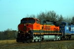Here's a closeup of BNSF C44-9W 1075 at Milepost 69.