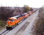 Lots of power on BNSF
