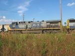 K941 power sits in the Sanford yard