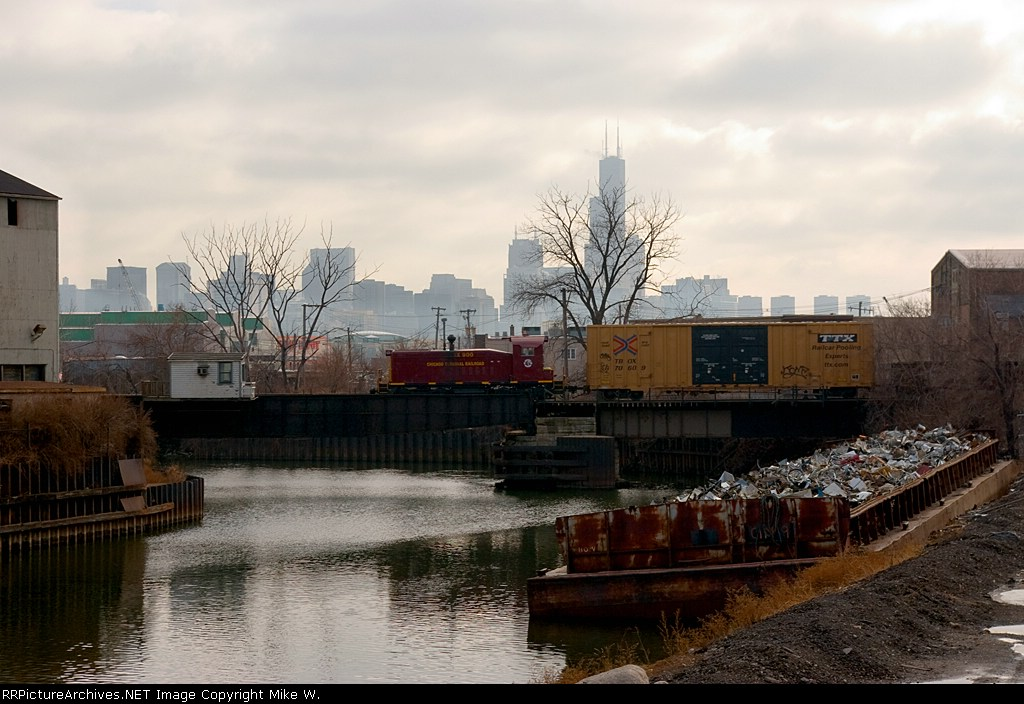 Crossing the Chicago River