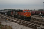BNSF Manifest Waiting To Depart