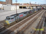 TFM 1636 leads NS train 339 downtown