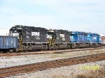 Nice set of power on NS train 56