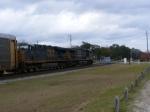 CSX 5119 & 5236 lead an Autorack Train