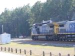 CSX 7753 rolls past some other railfans