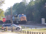 CSX 4744 leads an Intermodel thru Folkston