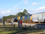 All the Locomotives behind CSX 19