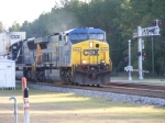 CSX 677 leads another Intermodal