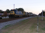 A shot of the train led by CSX 7508