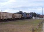 A NB empty Rock train led by CSX 9041
