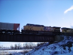 UP 5880 Is #3 On WB Christmas Eve Coal Empties