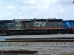 WC 6926 in there new CN Paint Scheme