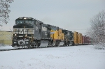 NS 11R NS 9052 in fresh snow!