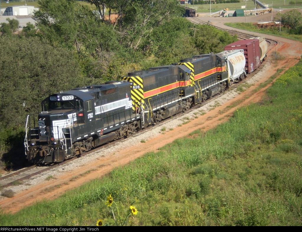 FMRC 1702, GNBC 626 and 627